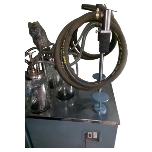 VACUUM BOTTLE  FILLING MACHINE D-4