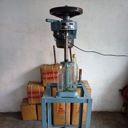 OLIVE OIL MOTORISED CAP SEALING MACHINE A-10